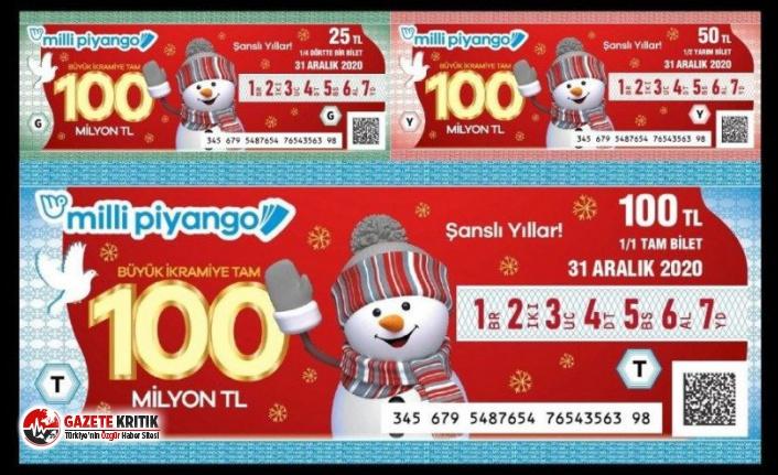 İşte Milli Piyango yılbaşı bilet fiyatları