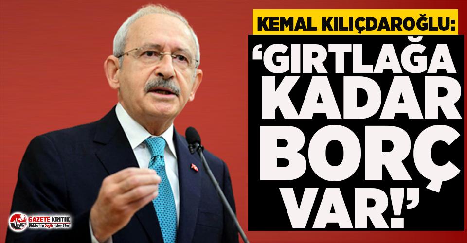 Kılıçdaroğlu: Merkez Bankası'nın kasası tam takır