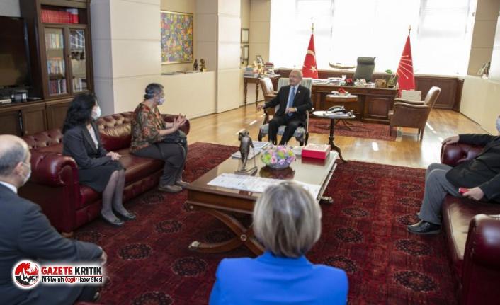 Kılıçdaroğlu, Türk Tabipler Birliği Heyeti ile buluştu