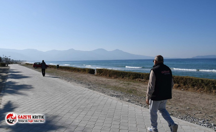 Kuşadası sahilinde adımlar sağlığa atılacak
