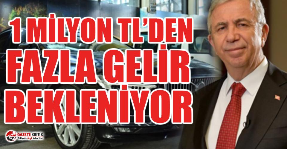 Mansur Yavaş lüks araçları satıyor: 1 milyon TL'den fazla gelir bekleniyor