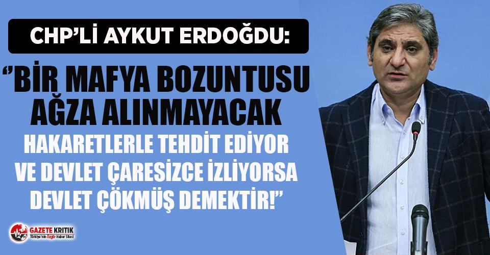 Kılıçdaroğlu'na yapılan tehdide mevcut vekillerden ilk tepki Aykut Erdoğdu'dan geldi!