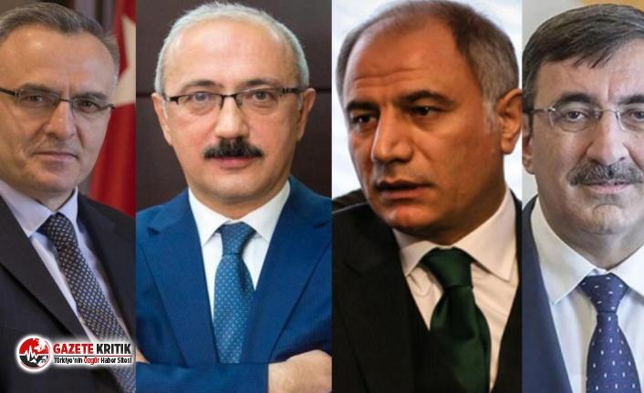 Naci Ağbal, Efkan Ala, Lütfi Elvan ve Cevdet Yılmaz... Peş peşe gelen bu dört atamada Davutoğlu ayrıntısı!