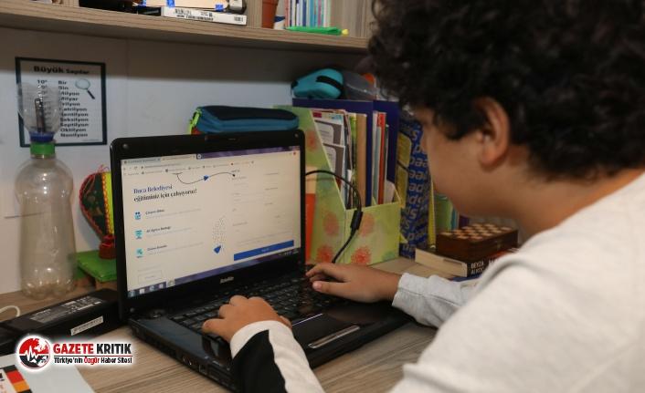 Öğrencilere büyük destek 'Dijital Dershane'
