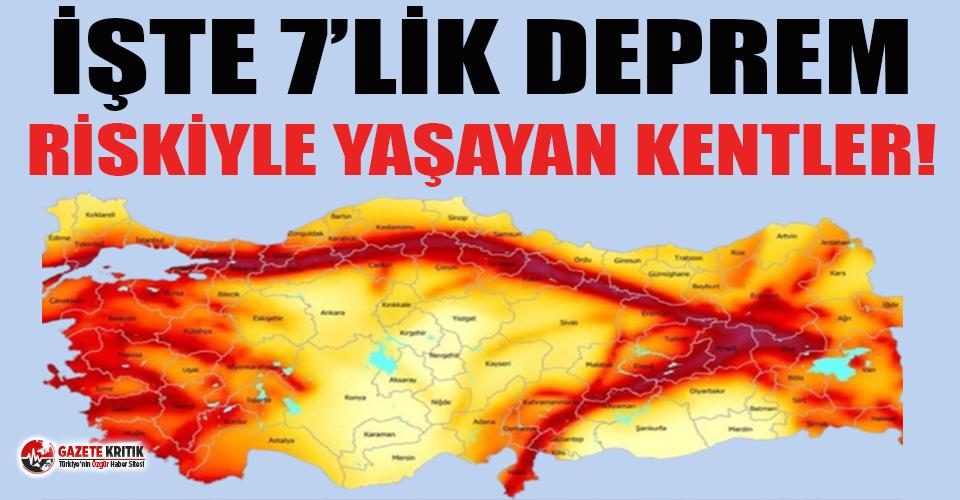 Prof. Dr. Okan Tüysüz aktif fay hattı üzerinde bulunan şehirleri açıkladı