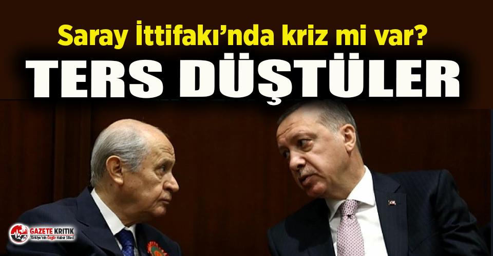Saray İttifakı'nda çatlak! Erdoğan ile Bahçeli ters düştü
