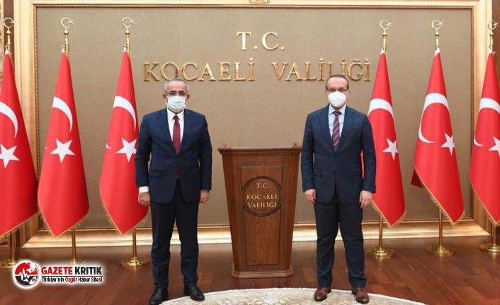 TBMM Başkanvekili Haydar Akar'dan Vali Seddar Yavuz'a ziyaret!