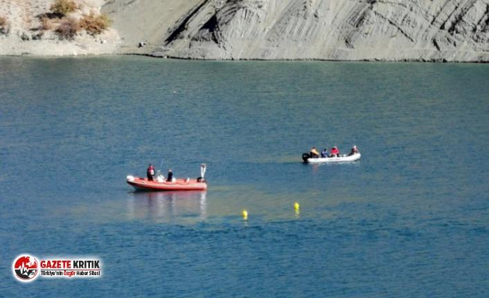 Tunceli'de Gülistan Doku için baraj gölünün yüzde 80'i tarandı
