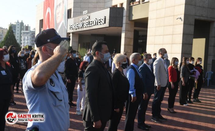 Yenişehir Belediyesi ATA'yı andı