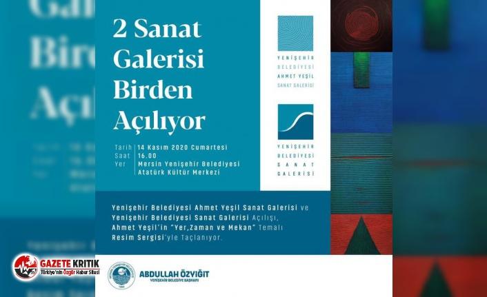 Yenişehir Belediyesi Mersin'e iki sanat galerisi kazandırıyor