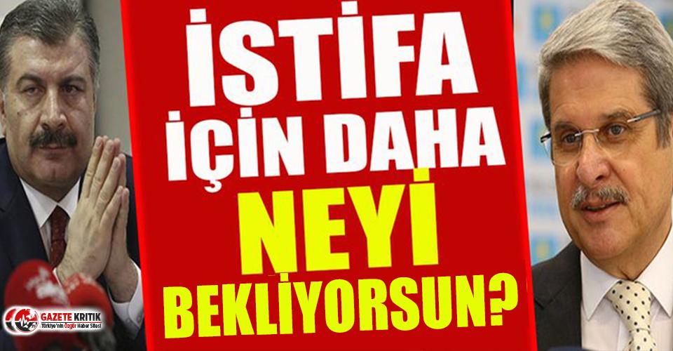 Aytun Çıray'dan Sağlık Bakanı'na istifa çağrısı: Oksijen tüpü karaborsada