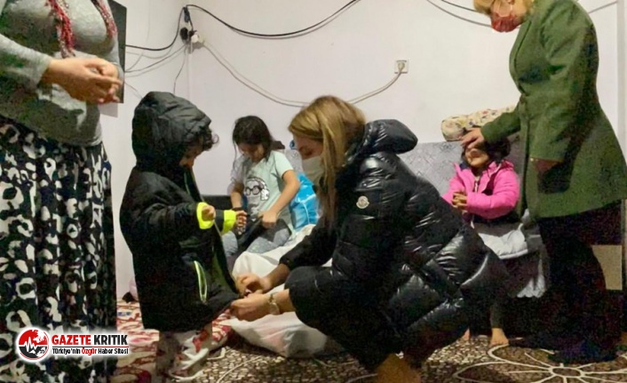CHP'den 'yiyecek bir şey yok' sözleriyle gündeme gelen Kader'e destek!