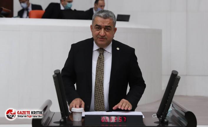 """CHP'li Serter: """"Belediyelerin otopark gelirlerine de göz diktiler"""""""