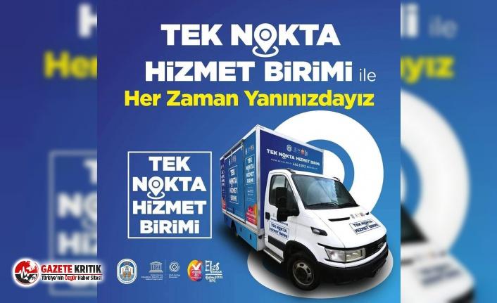 """EFES SELÇUK BELEDİYESİ """"TEK NOKTA"""" İLE HER MAHALLEDE"""