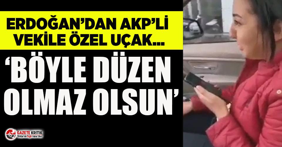 Erdoğan'dan, AKP'li vekile ambulans uçak jesti!