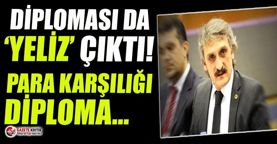 Hamza Yerlikaya'dan sonra AKP'de bir diploma skandalı daha!