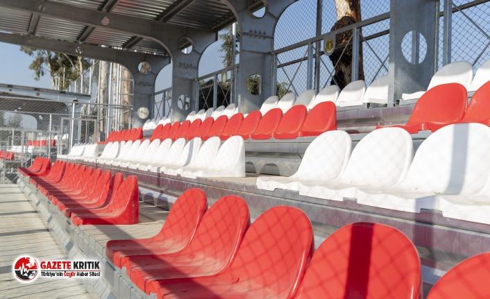 Mersin Büyükşehir'in spora desteği devam ediyor