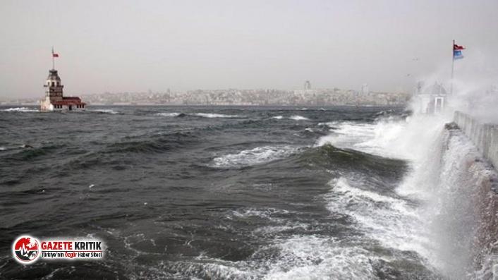 """Meteoroloji'den İstanbul için """"sarı kod"""" uyarısı"""