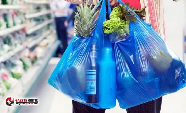 Plastik poşetler internet alışverişinde de ücretli oluyor