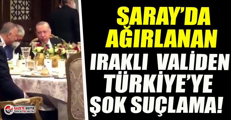 """Saray'da ağırlanan Iraklı vali ülkesine döndü, Türkiye için """"işgalci"""" dedi!"""
