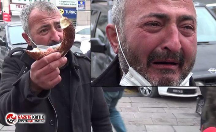 Sokak röportajında vatandaş gözyaşlarını tutamadı: Ben açım, bana sahip çık Suriye'ye değil!