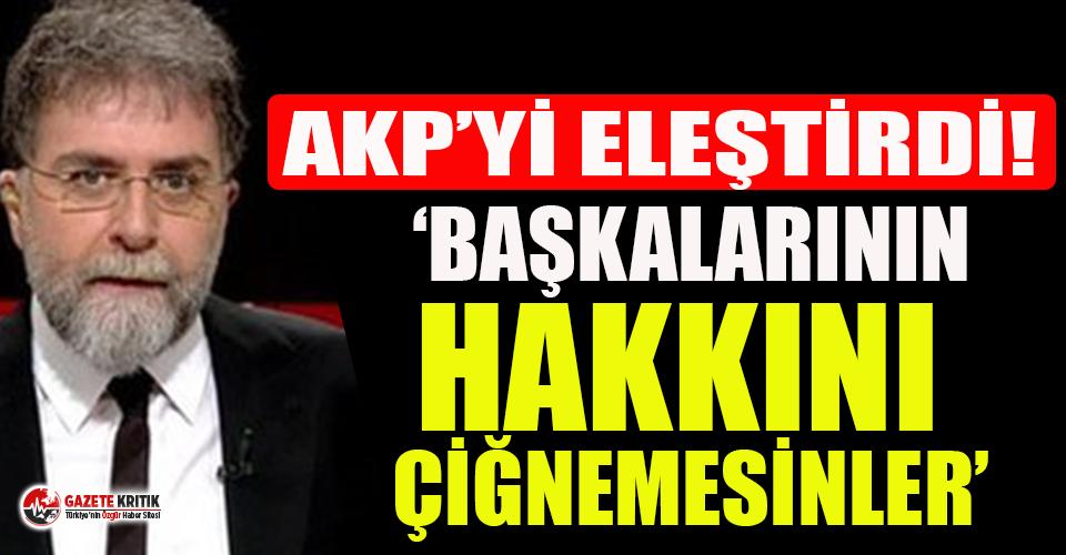Ahmet Hakan AKP'ye dikkat çeken aşı tepkisi