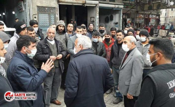 AKP'li belediyeden 'dükkanları boşaltın' tebligatı
