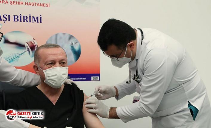 Bomba iddia! Erdoğan'ın farklı aşı olduğu iddiası kafaları karıştırdı
