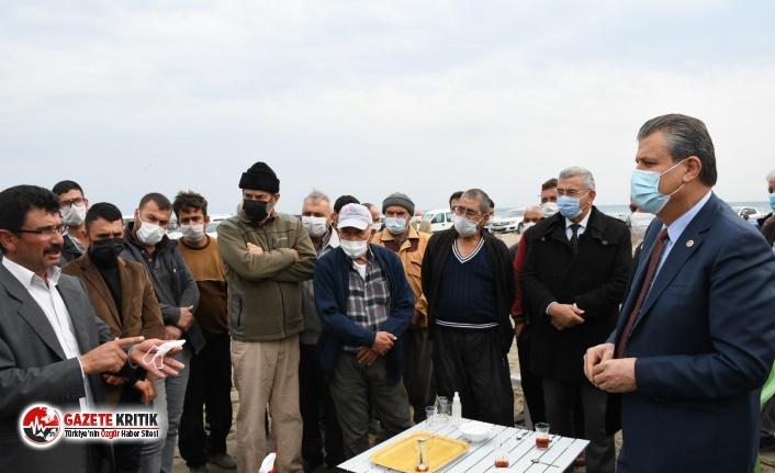"""CHP'li Barut: ''Çiftçi, yetiştirici ve balıkçılarımızın yanındayız"""""""