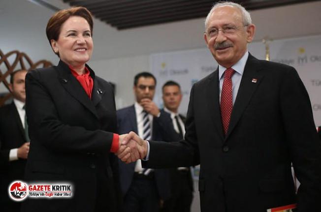 """CHP ve İYİ Parti'den ortak """"Millet İttifakı"""" açıklaması"""