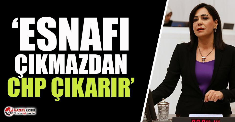 """CHP'li Dr. Candan Yüceer: """"Esnafı Çıkmazdan CHP Çıkarır"""""""