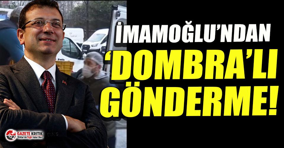 Ekrem İmamoğlu'ndan AKP ve MHP'li üyelere gönderme!