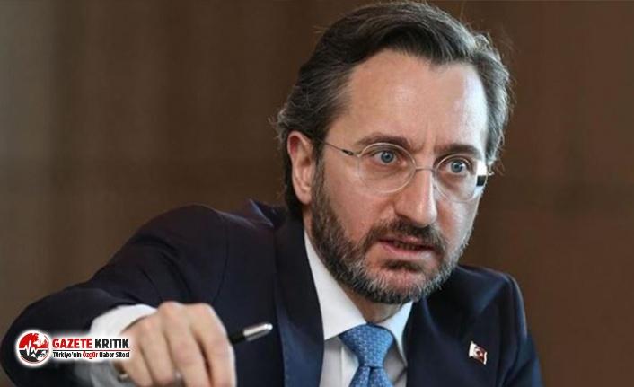 'Fahrettin Altun haberinden ifade vermeyi' haber yapmak suç sayıldı