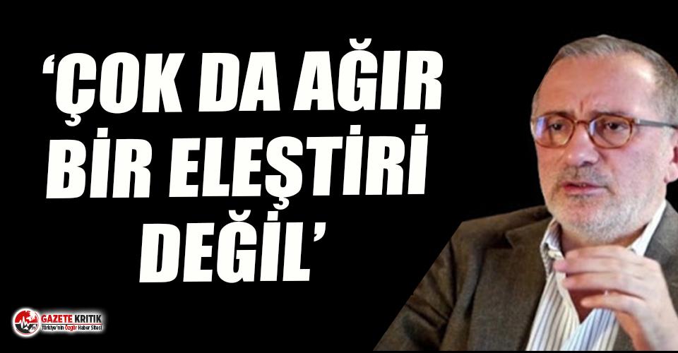 Fatih Altaylı'dan 'sözde Cumhurbaşkanı' yorumu