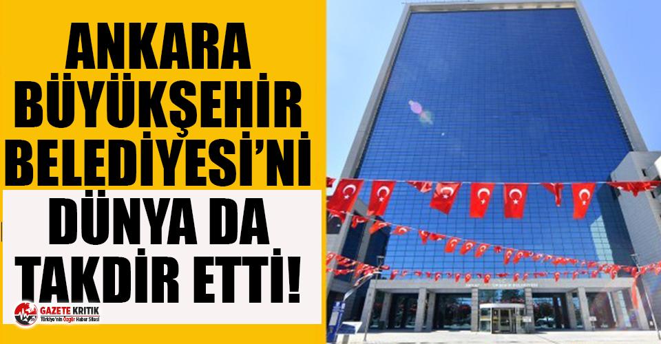 Fitch'ten Ankara Büyükşehir Belediyesi'ne en yüksek rating notu!