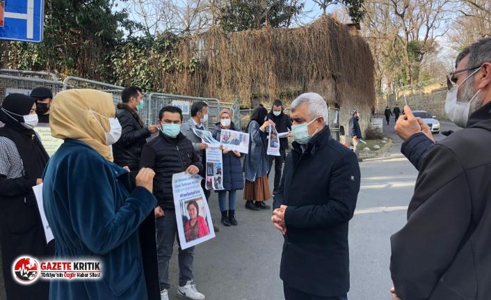 Gergerlioğlu: İstanbul Çin Konsolosluğu Önünde 15 Gündür Eylem Yapan Doğu Türkistan Türklerini Ziyaret Etmiş ve Onların Haklı Mücadelelerine Destek Vermiştir!