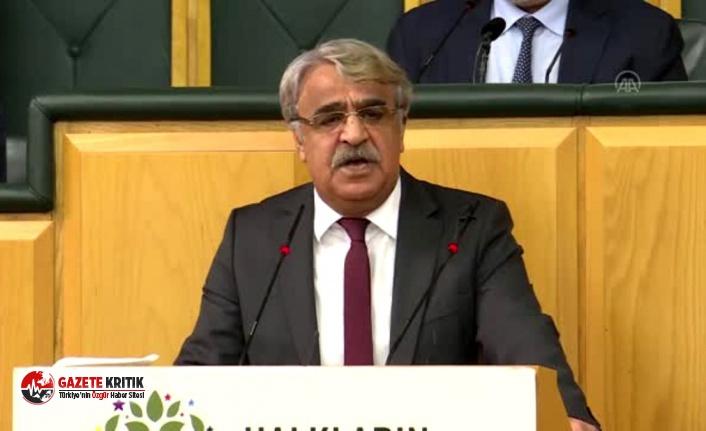 HDP Eş Genel Başkanı Sancar'dan 'kapatma' açıklaması: Buyursunlar deneyip görsünler