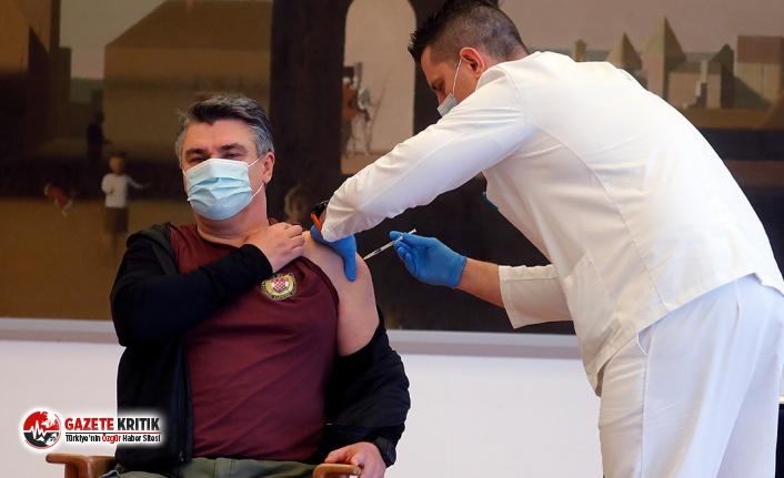 Hırvatistan Devlet Başkanı Milanovic, Covid-19 aşısı yaptırdı