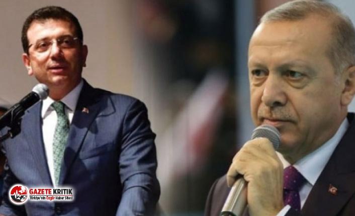 İmamoğlu'ndan Erdoğan'la ilgili anket sorusuna flaş yanıt!