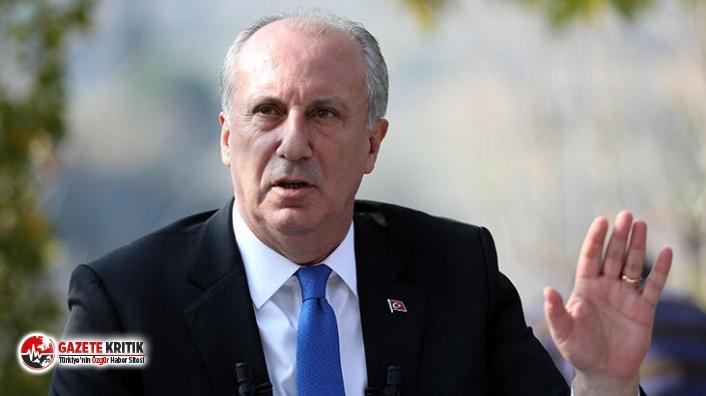 İnce: Yeni partiyi bahara kurarız, bazı CHP milletvekilleri bize katılacak