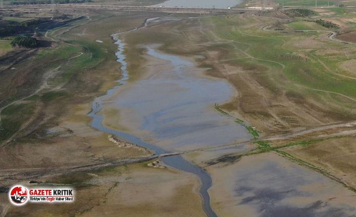 İstanbul'da alarm; barajların doluluk oranı yüzde 19'a indi