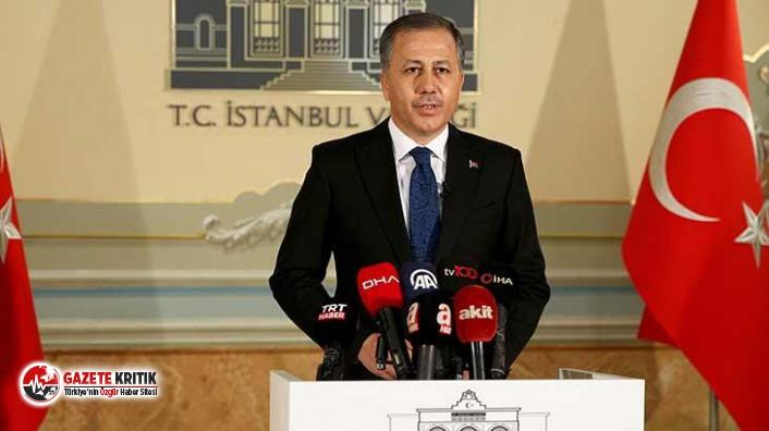 İstanbul Valisi: Beşiktaş ve Sarıyer ilçelerinde her türlü gösteri ve yürüyüş yasaklandı!