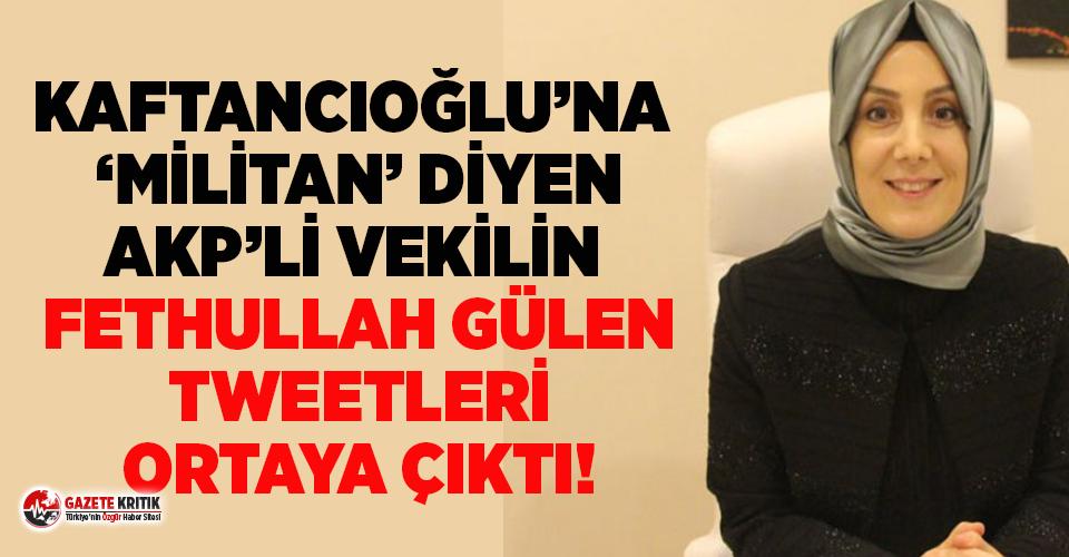 Kaftancıoğlu'na saldıran AKP'li vekilin sicili: Fethullah Gülen Hocaefendi...