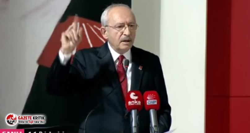 """Kılıçdaroğlu: """"Milleti açlığa, fakirliğe, fukaralığa mahkum eden sensin o nedenle sana 'Sözde Cumhurbaşkanı' dedim ve demeye de devam ediyorum''"""