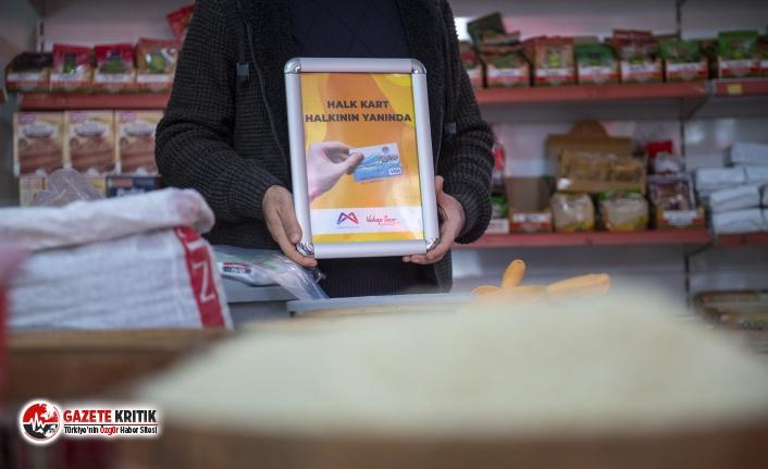 Mersin Büyükşehir'den hem vatandaşa hem esnafa destek