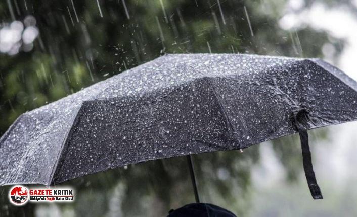 Meteoroloji tarih verdi: Yağışlar 7 gün sürecek