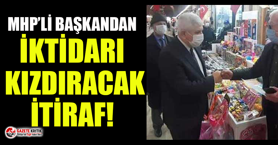 MHP'li Başkan AKP'ye isyan etti: Bir dokun bin ah işit
