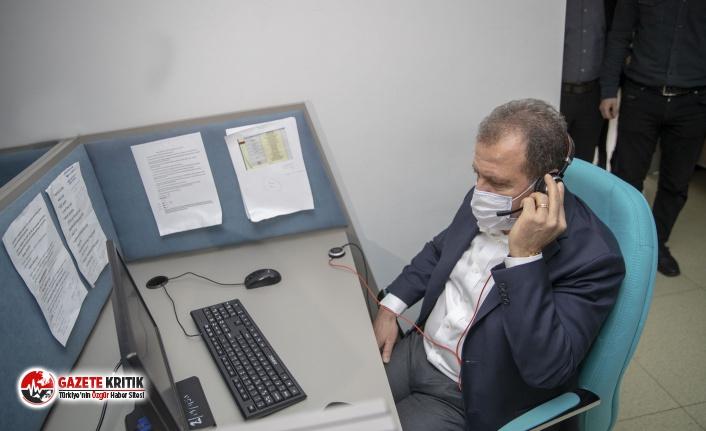 TEKSİN'i arayan vatandaşın çağrısına Başkan Seçer yanıt verdi