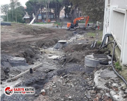Topkapı Sarayında tarihi eserler zarar görüyor! Yol düzeltmek için tarih yok ediliyor