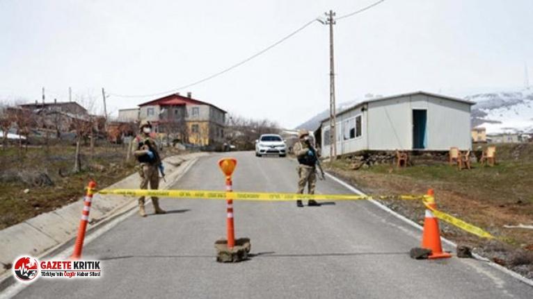 Adıyaman'da 83 ev karantina altına alındı